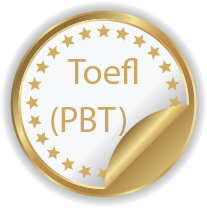 Toefl (PBT):Paper Based Test