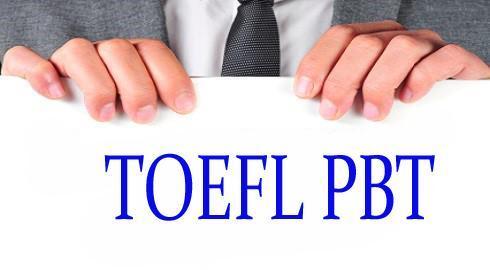 Toefl (PBT):Paper Based Test